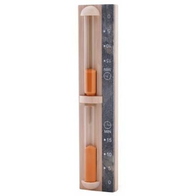 Часы песочные Sawo 550-RА осина, камень