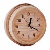 Часы для бани и сауны Sawo 530-Р сосна (устанавливаются в предбаннике)