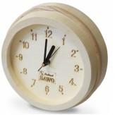 Часы для бани и сауны Sawo 531-А, осина (устанавливаются в предбаннике)