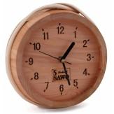 Часы для бани и сауны Sawo 531-D, кедр (устанавливаются в предбаннике)