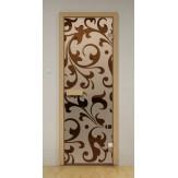 Стеклянная дверь для бани и сауны Aldo ДСМ Версаль 690х1890мм