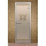 Стеклянная дверь для турецкой бани Aldo ДТ Фараон 690х1890
