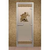 Стеклянная дверь для турецкой бани ALDO ДТ Лацио 790х1990