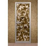 Стеклянная дверь для турецкой бани Aldo ДТМ Петергоф 690х1890