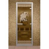 Стеклянная дверь для турецкой бани Aldo ДТМ Рим 690х1890