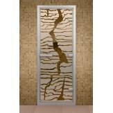 Стеклянная дверь для турецкой бани Aldo ДТ Спрайт 690х1890