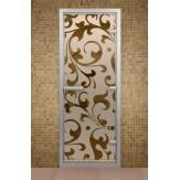 Стеклянная дверь для турецкой бани Aldo ДТ Версаль 690х1890