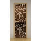 Стеклянная дверь для бани и сауны Aldo ДСМ Трафик 790х1990мм
