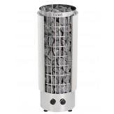 Электрическая печь Harvia Cilindro PC90VH (белая, управление встроенное, полуоткрытый кожух)