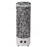 Электрическая печь для бани и сауны Harvia Cilindro PC90 со встроенным управлением черный корпус
