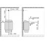 Электрическую печь для бани и сауны Harvia Trendi KIP-80TE Steel без пульта