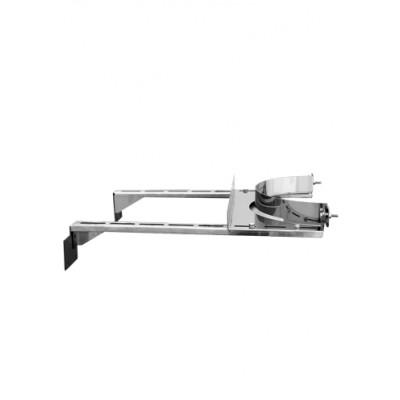 Штанга для стенового хомута  Ferrum AISI 430 0.8 мм L-500 мм