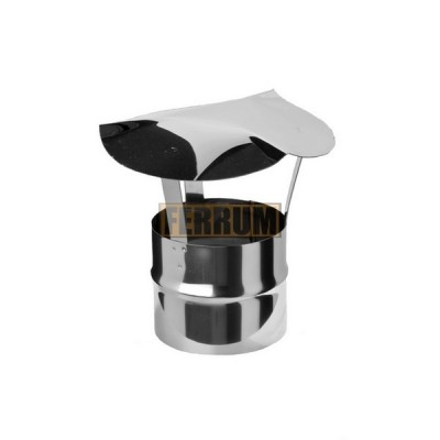 Зонт-Д Ferrum d=130 мм из стали AISI 430 0,5мм