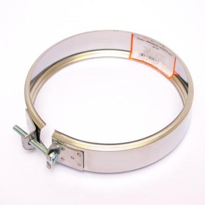 Хомут обжимной Ferrum AISI 430 0,5 мм Ф197-200