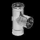 Тройник-Д Ferrum 90 AISI 430 0,8 мм Ф200 мм