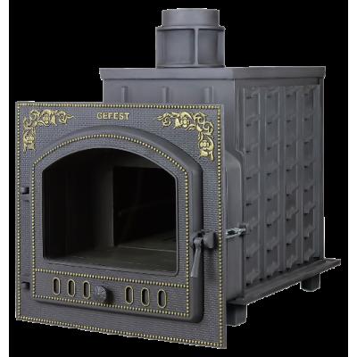 Чугунная печь для бани Гефест (ПБ-02М)