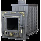 Чугунная печь для бани Гефест ПБ-03М-ЗК с закрытой каменкой