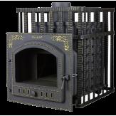 Чугунная печь для бани Гефест ПБ-03ПС-ЗК с закрытой каменкой