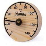 Гигрометр для бани и сауны Sawo 100-НВР сосна