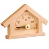 Гигрометр для сауны и бани Sawo 125-HР, сосна