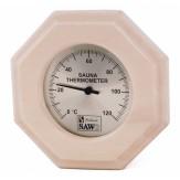 Термометр для сауны и бани Sawo 240-ТА осина