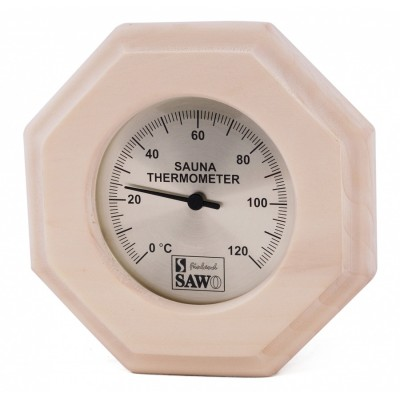 Термометр для сауны и бани Sawo 240-TA осина