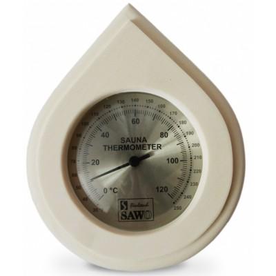Термометр для сауны и бани Sawo 250-ТА осина