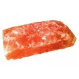 Плитка из гималайской соли необработанная 20*10*2.5 см