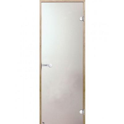 Дверь для сауны Harvia D71905L коробка ольха, стекло сатин
