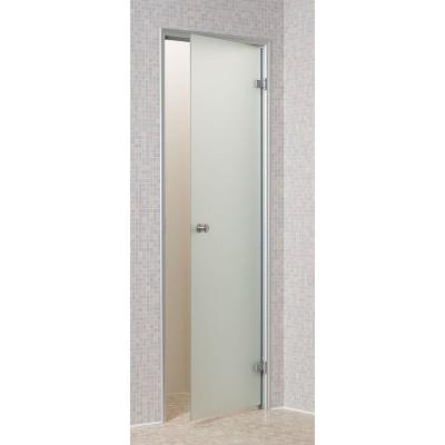 Дверь для турецкой бани Harvia DA71905 коробка алюминий, стекло сатин