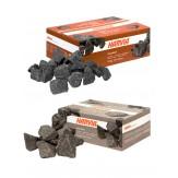 Габбро-диабаз колотый Harvia 10-15 см для дровных печей, 20 кг