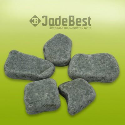 Комплект из 30 камней жадеит для массажа шлифованный