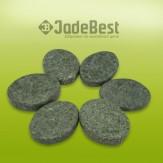 Комплект из 20 камней жадеит для массажа полированный