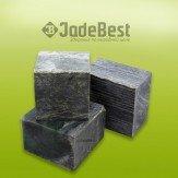 Камни для бани нефрит кубики шлифованные