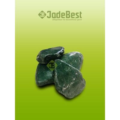 Камни для бани нефрит галтованный