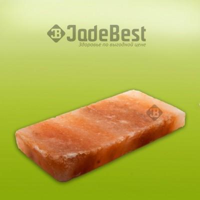 Плитка из гималайской соли обработанная 20*10*2.5 см