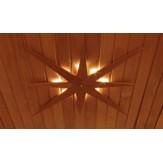 Потолочный светильник для сауны и бани Cariitti звезда, артикул 1545809