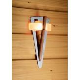 Светодиодный светильник Cariitti TL-100 Led с деревянным стержнем IP67, артикул 1545166