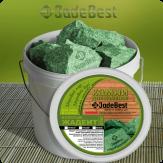 Жадеит колотый сортовой глубокого залегания 1 кг в экологичной упаковке