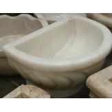 Курна 4 Onix для турецкой бани пристенная 430*320*250
