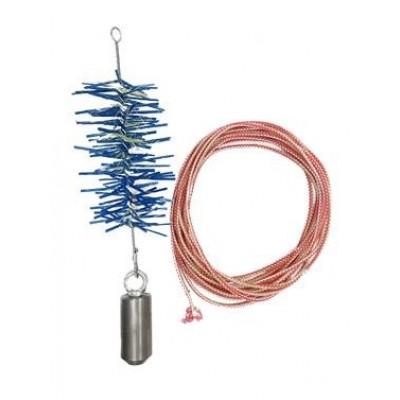 Набор трубочист для дымохода 120 мм пластик