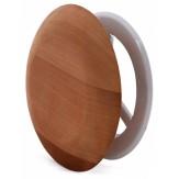 Вентиляционная заглушка Sawo 631-D, диаметр 100мм, кедр