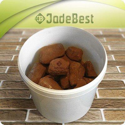 Яшма сургучная для бани и сауны, 1 кг в экологичной упаковке