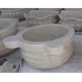 Курна 2 для турецкой бани пристенная 430*430*250 серая