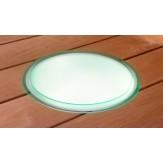 Шайка со светодиодной подсветкой без ручек включает блок питания и кабель 5М  (1545838)