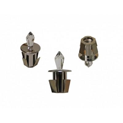 Хрустальная насадка на оптическое волокно кристал Cariitti CR-31 хром (1540064)