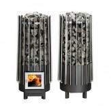 Дровяная печь для бани и сауны Helo Rocher Wood L SL