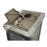 Чугунные дверки для закрытой каменки дровяной печи Ижкомцентр ВВД