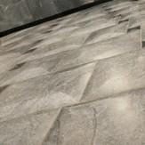 Плитка из талькохлорита Дижон дутая форма полированная 90х90х13