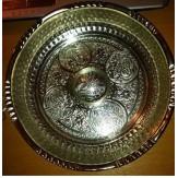 Чаша для хамама малая «Серебро» диаметр 16 см